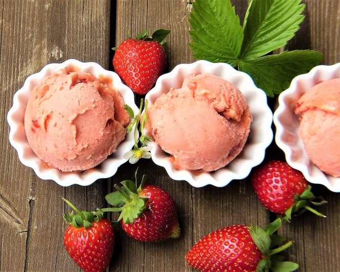 Angelina's Style | 2 Ingredient No Machine Sorbet - 2 Ways, Sweetened & Sugar Free